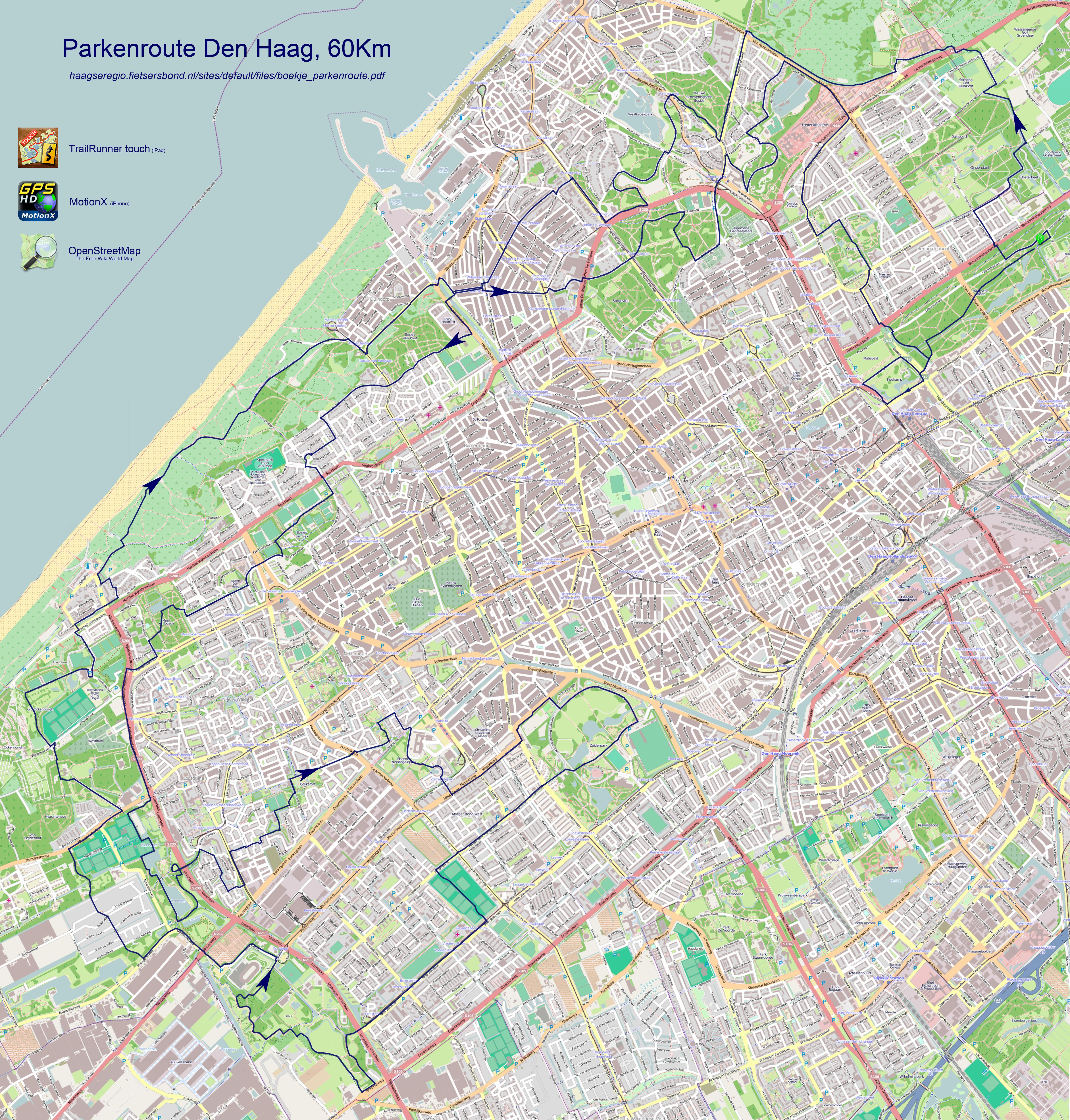 Kaart Den Haag   digtotaal
